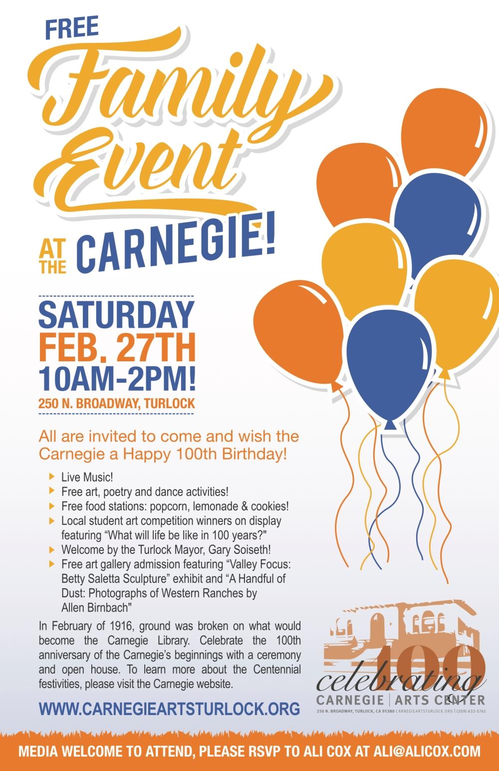 CarnegieArtsCenter_FreeFamilyEvent_poster_noMarks