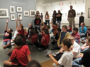 Curtis Creek field trip in gallery