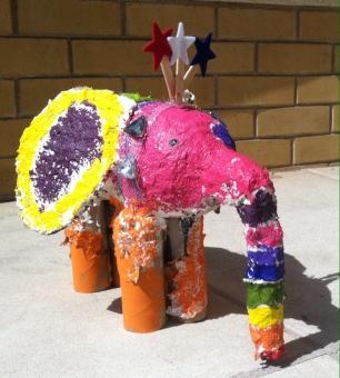 Student Art Elephant