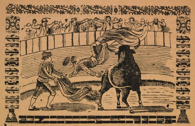 53 - Goring of a matador detail