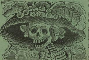 Posada, La Catrina, detail