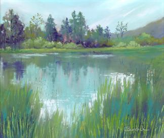 Ginny Burdick, Reflections in the Pond