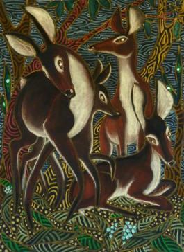 Jane Zich-The-Way-Deer-Listen